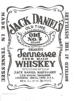 jack daniels logo stencil - Google Search - Jack Daniels Logo Vector PNG