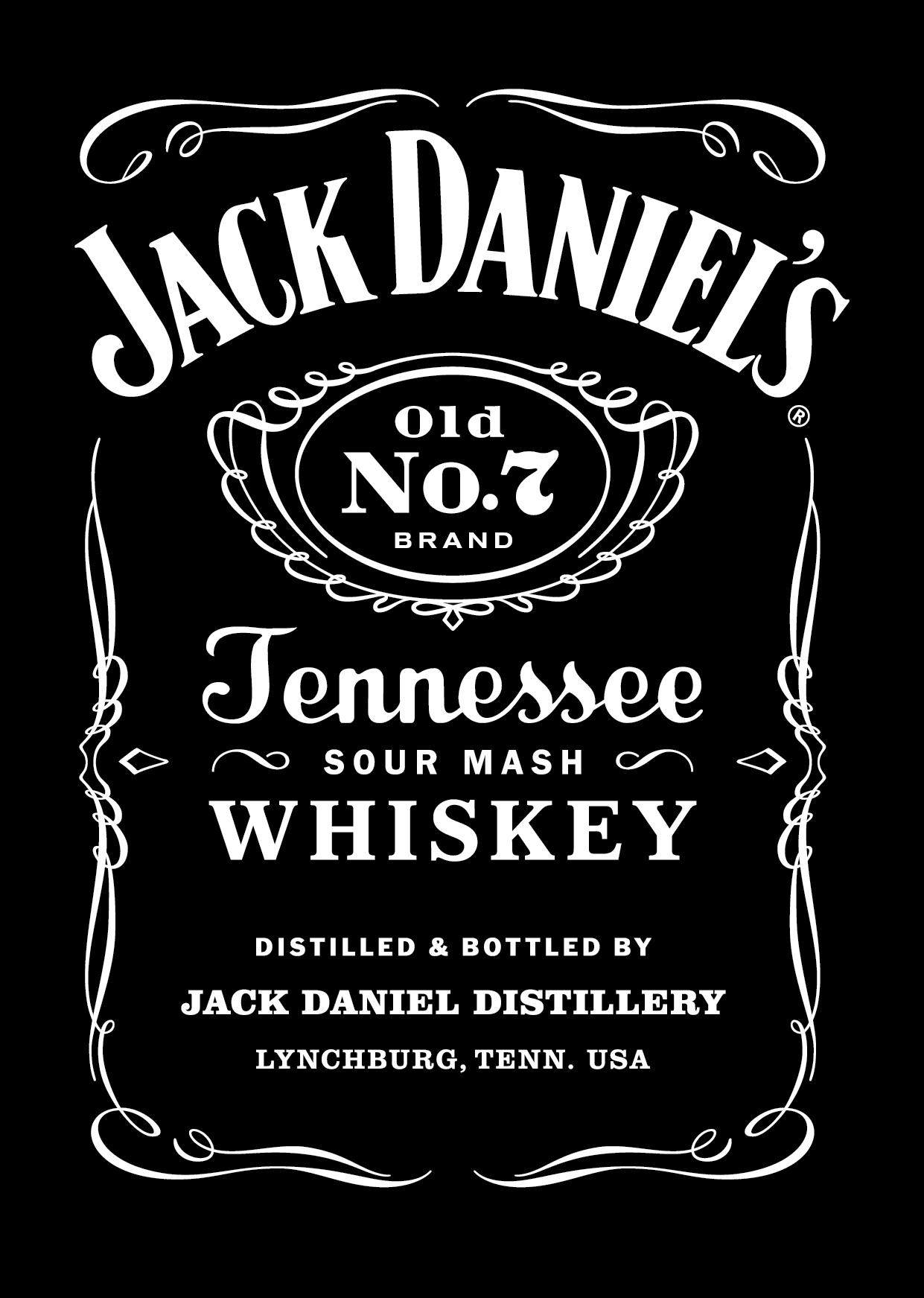 Jack Daniels, more than just a whiskey - Jack Daniels Logo Vector PNG