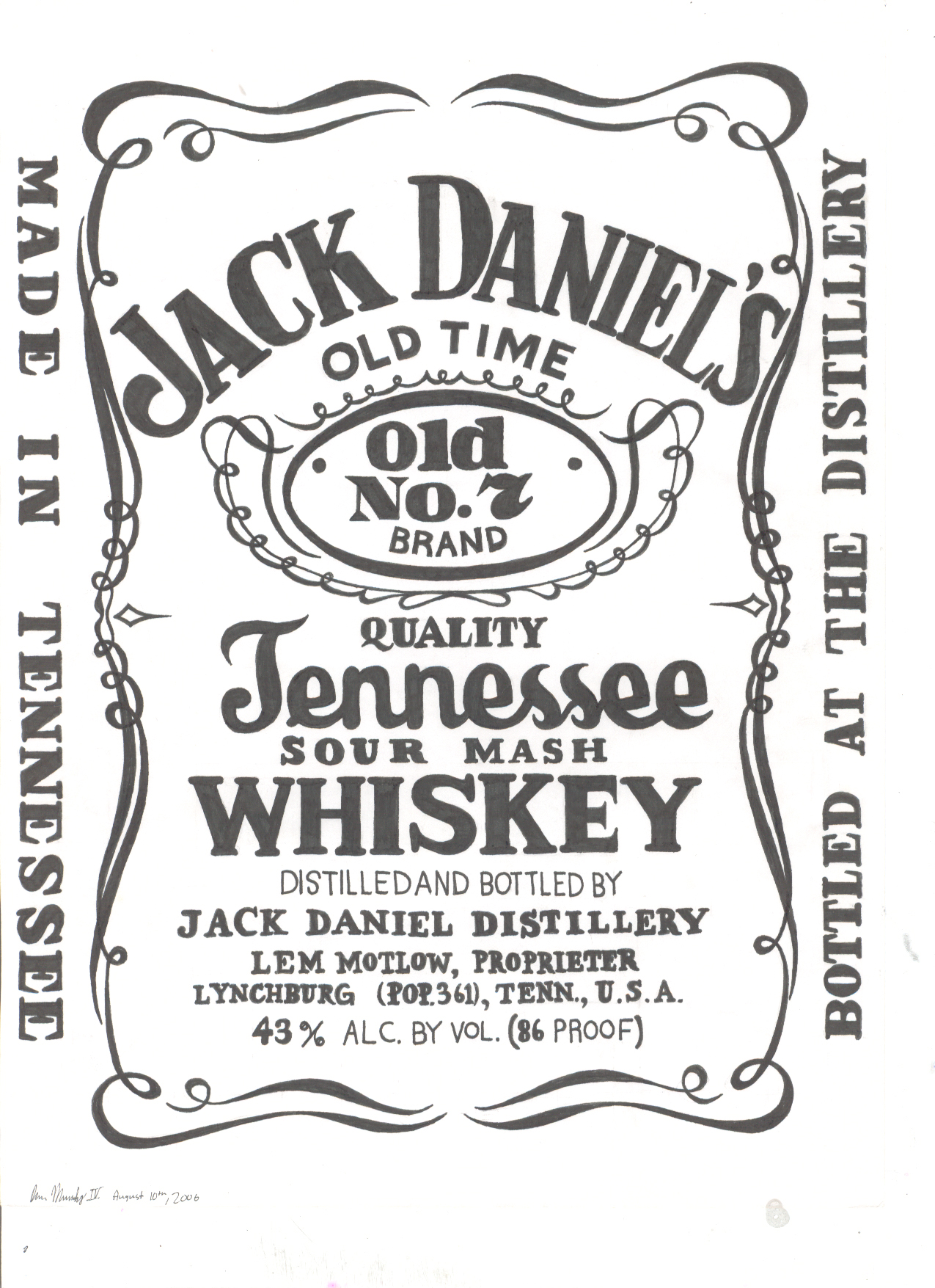 Best Jack Daniels Logo Stickers 82 For Create Logo Free with Jack Daniels  Logo Stickers - Jack Daniels Vector PNG
