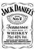 Jack Daniels Vector PNG - 104365