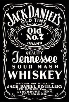Jack Daniels Vector PNG - 104355
