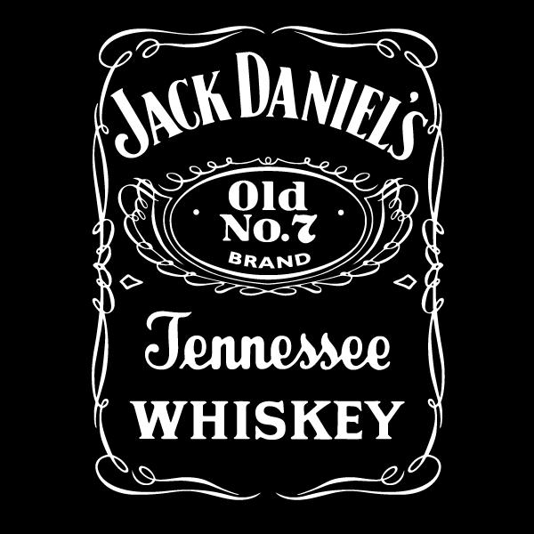 jack-daniels-vector-logo-black - Jack Daniels Vector PNG