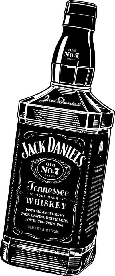 Jack Daniels Vector PNG - 104359