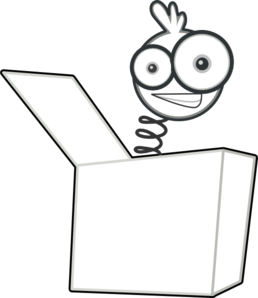 Jack In The Box PNG Black And White
