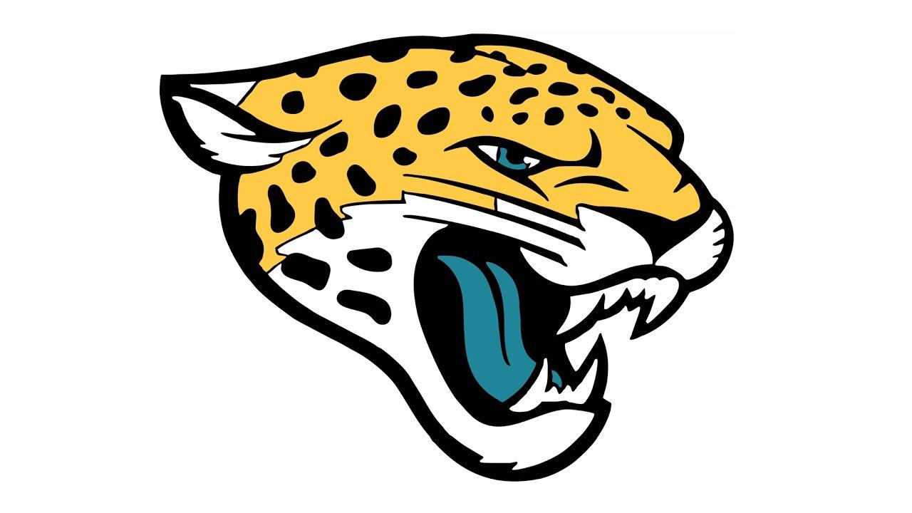 Como desenhar o escudo do Jacksonville Jaguars (NFL) - How to Draw the Jacksonville  Jaguars Logo - YouTube - Jacksonville Jaguars Logo PNG