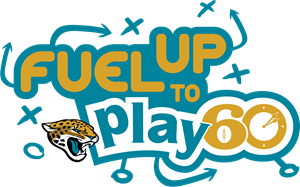 Jacksonville Jaguars Fuel Up to Play 60 Logo Vector - Jacksonville Jaguars Vector PNG