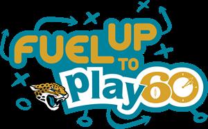 Jacksonville Jaguars Fuel Up to Play 60 Logo Vector - Jacksonville Jaguars Vector PNG