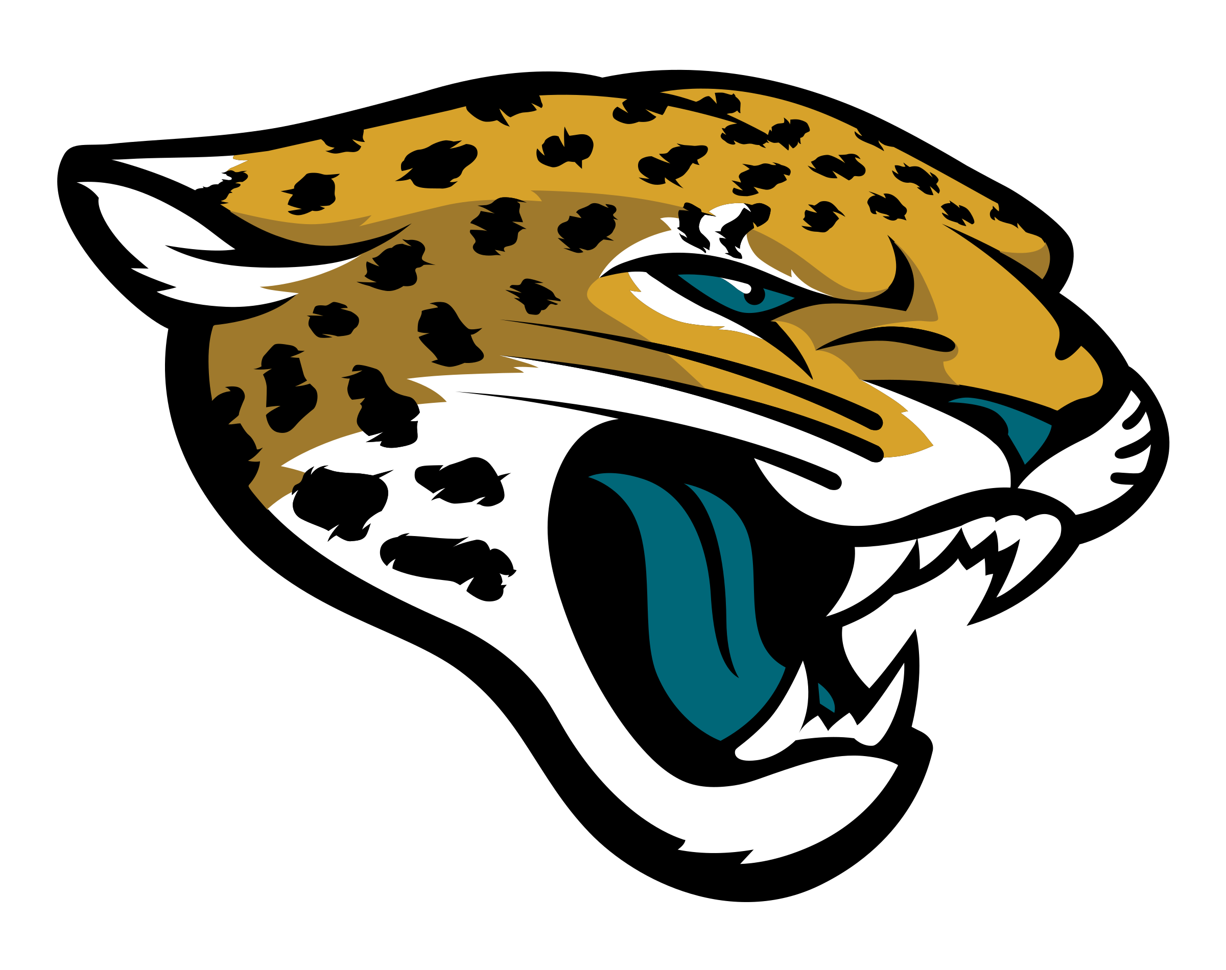 Jacksonville Jaguars logo transparent - Jacksonville Jaguars Vector PNG