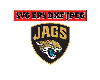 Jacksonville Jaguars SVG File - Vector Design in, Svg, Eps, Dxf, and - Jacksonville Jaguars Vector PNG