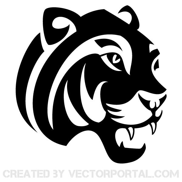 jaguar clip art 123freevectors - Jaguar PNG Black And White