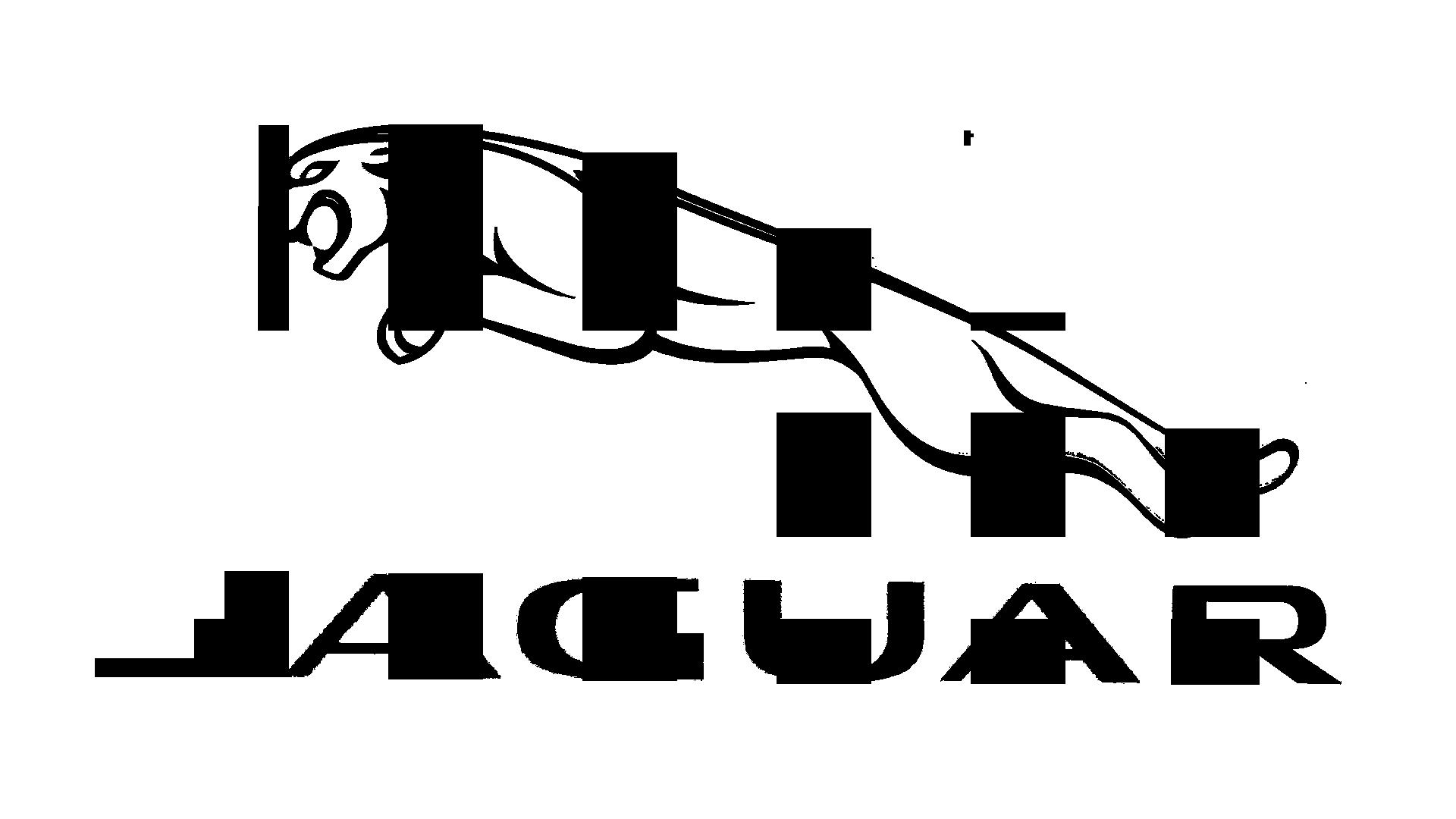 Jaguar PNG Black And White - 49086