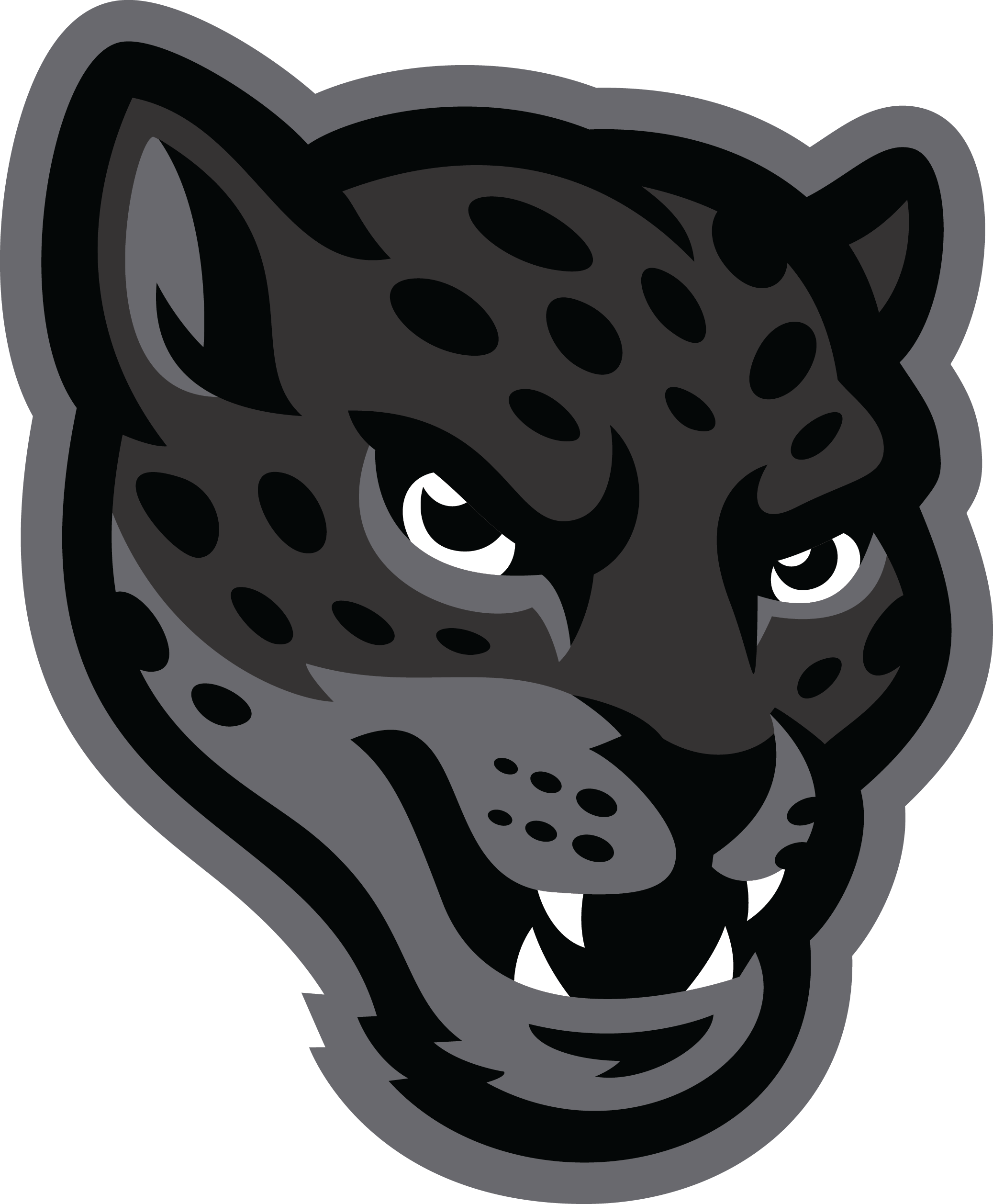 Jaguar PNG Black And White - 49093