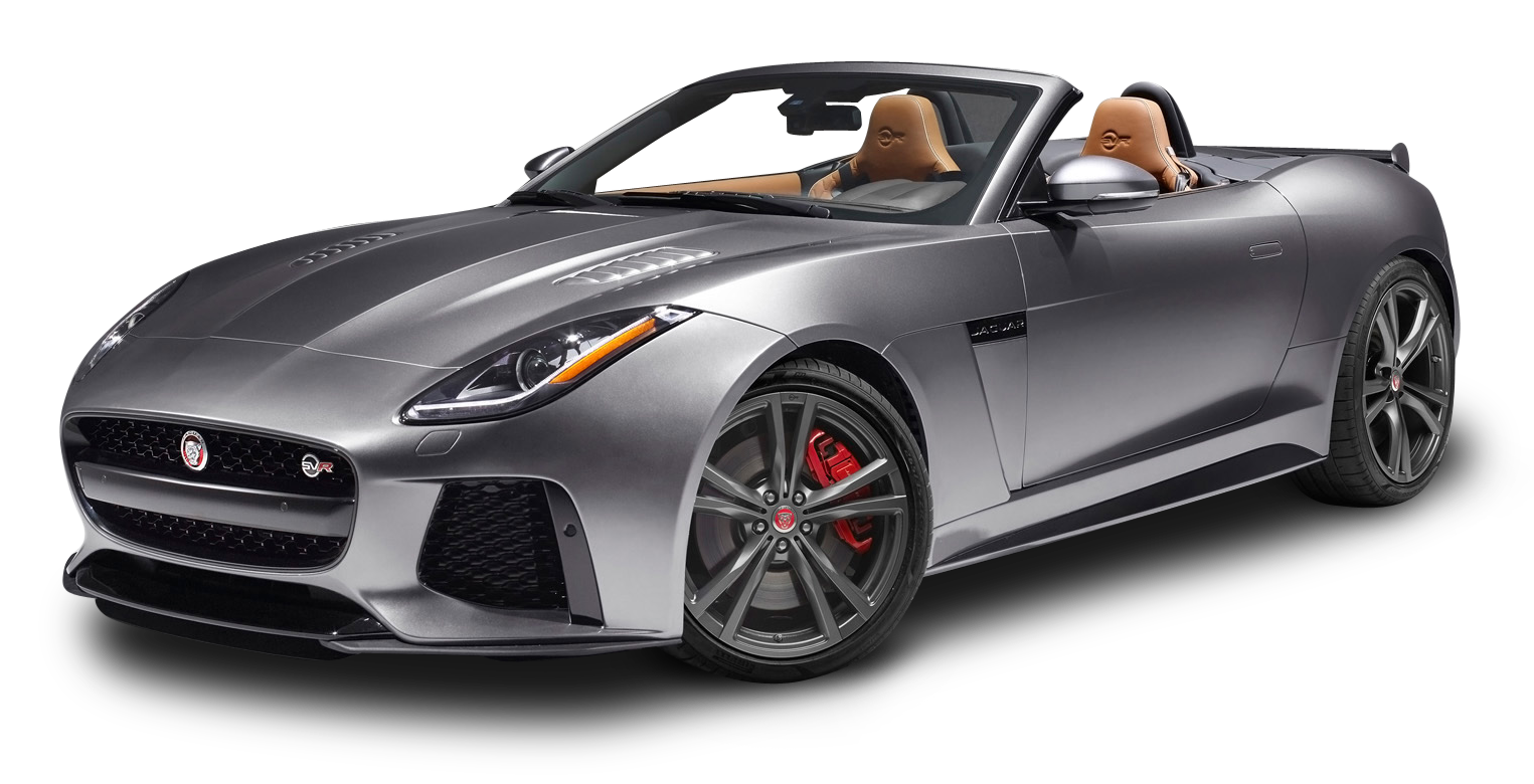 Gray Jaguar F TYPE SVR Conver