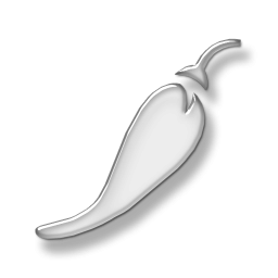 Jalapeno PNG Black And White - 70026