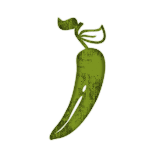 Jalapeno PNG Black And White - 70025