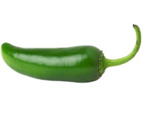 Leading off for the pepper team is the good ole Jalapeño. Jalapeños vary  with their rankings but they rate at about 3,000 SHUs. The number is large,  PlusPng.com  - Jalapeno PNG HD