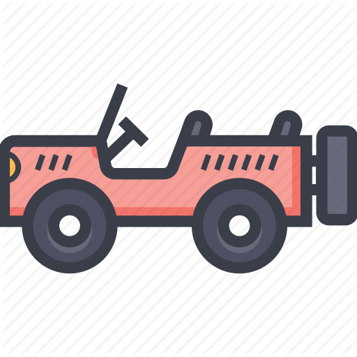 jalopy, jeep, suv, travel, vehicle icon - Jalopy PNG