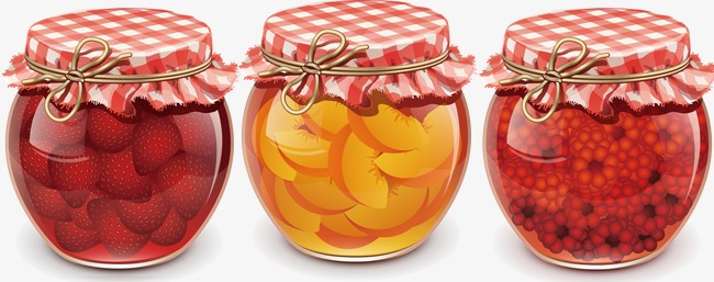 Hand-painted glass jam jar, Hand Painted, Jam, Glass Jar Free PNG and PSD - Jam Jar PNG HD