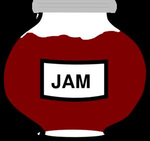 Jam Jar Clip Art - Free PNG Jam - Jam Jar PNG HD