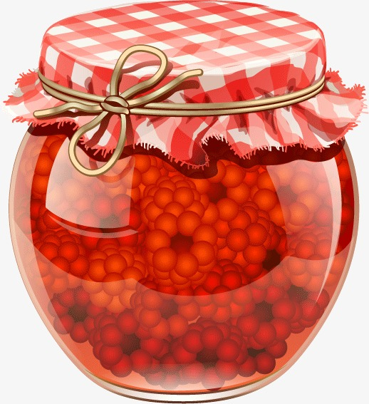 Jam jars, Glass Bottles, Can, Food PNG and Vector - Jam Jar PNG HD