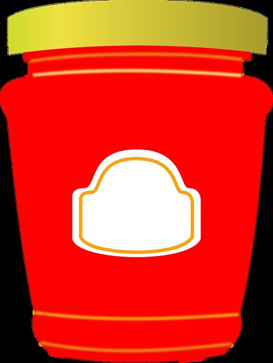 Jar, Jam, Jelly, Plain, Food, Breakfast - Jam Jar PNG HD
