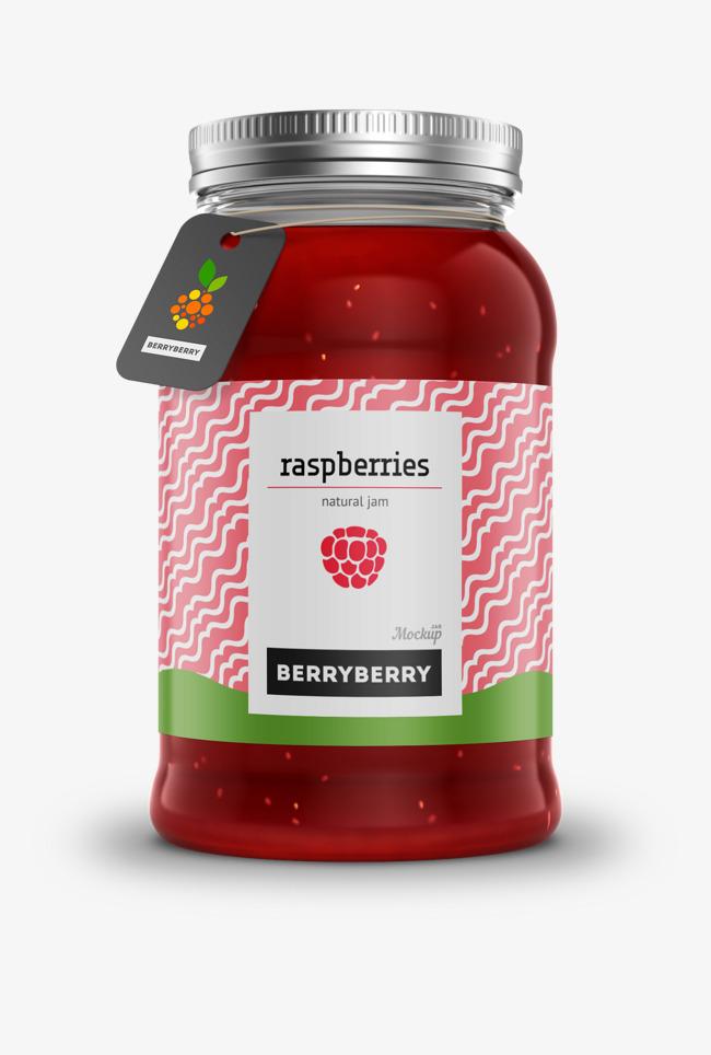 Strawberry jam jar psd, Advertising, Real, Jar PNG and PSD - Jam Jar PNG HD