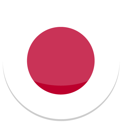 512x512 Pixel - Japan Flag PNG HD