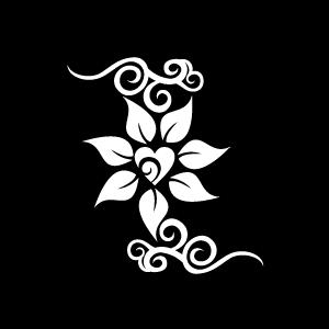 Jasmine PNG Black And White - 49731