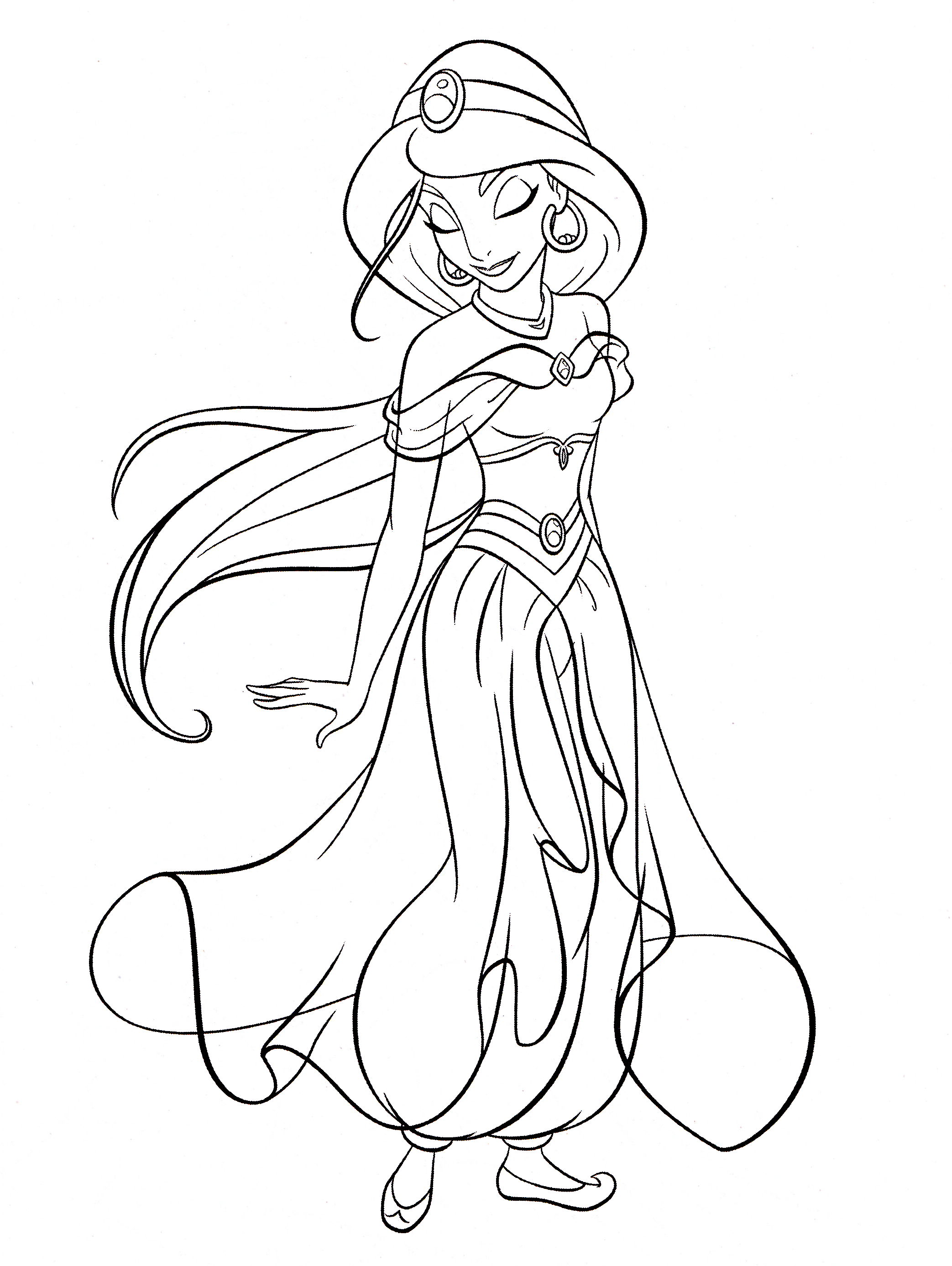 Disney Coloring Pages Black And White Underwater Disney