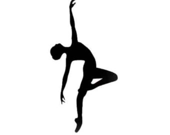 Jazz Dancer PNG Silhouette - 48181