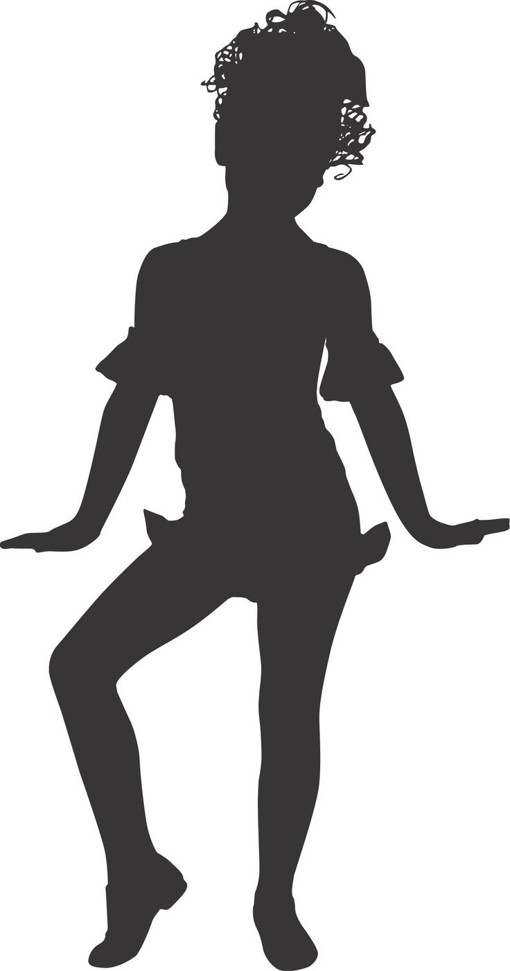 dancer clipart - Jazz Dancer PNG Silhouette