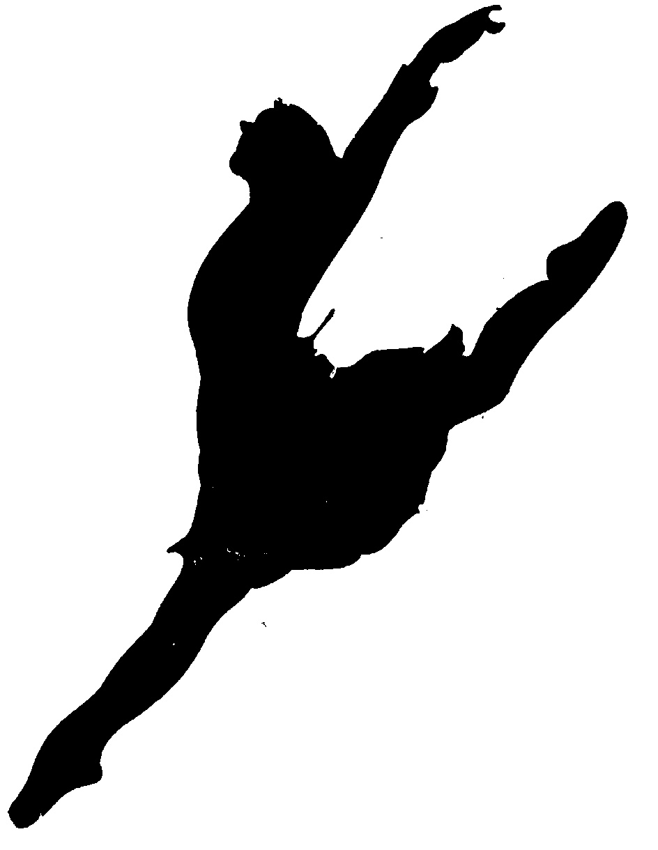 Dancer leaping clipart free images - Jazz Dancer PNG Silhouette