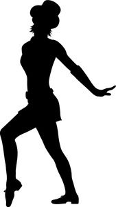 Dances: In this image we see a dancer that looks like she is doing the dance  of Liya. The dance of Liya is not like the horah you can dance this dance  PlusPng.com  - Jazz Dancer PNG Silhouette
