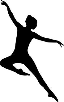 Jazz Dancer PNG Silhouette - 48171