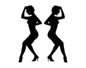 Jazz Dancer PNG Silhouette - 48179