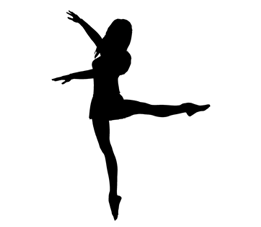 Pics For u003e Lyrical Dancer Silhouette - Jazz Dancer PNG Silhouette