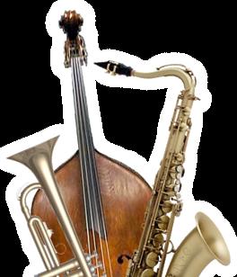 Jazz Instruments PNG - 49777