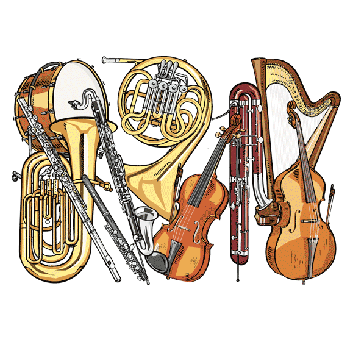 classical instruments - Jazz Instruments PNG