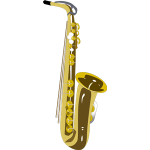 Saxophone clipart, cliparts of Saxophone free download - Jazz Instruments PNG