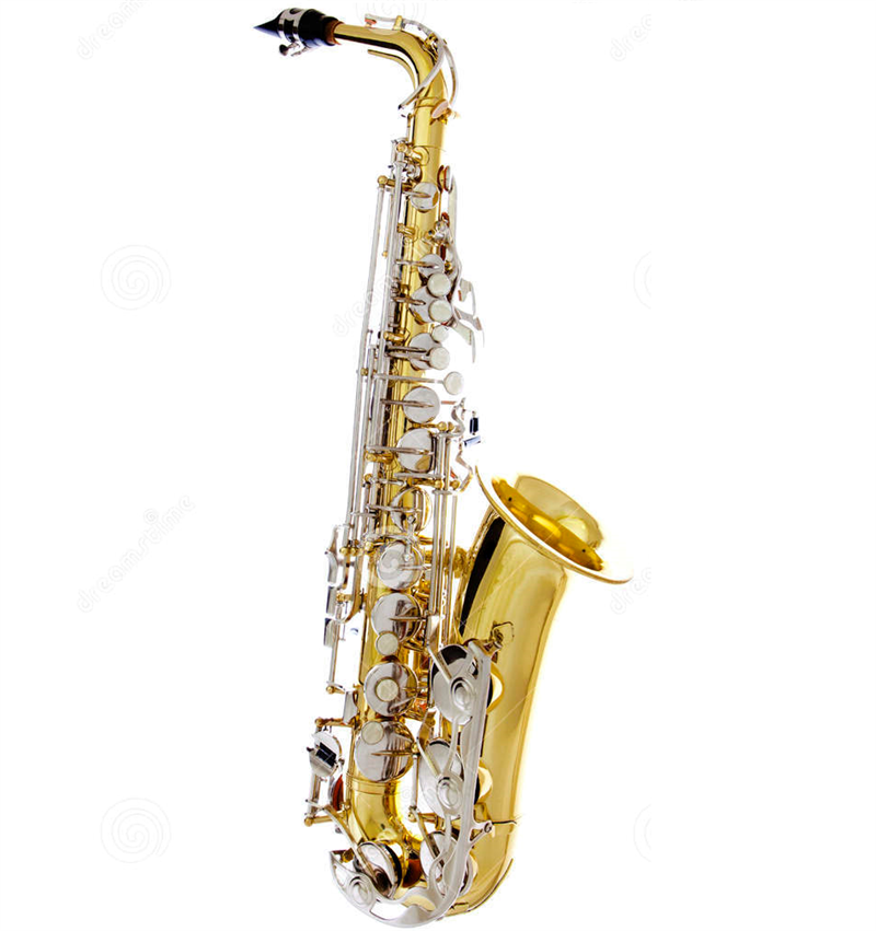 The Saxophone is a woodwind instrument even thought it is made of brass.  Most people know the saxophone as they have heard it in jazz or rock music. - Jazz Instruments PNG
