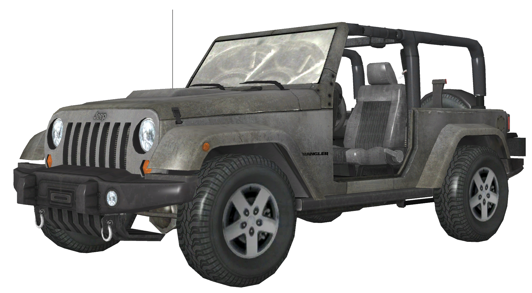 Image - Jeep Wrangler White m