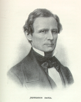 In Washington, DC, US Senator Jefferson Davis (D-Mississippi), a member of  the appointed Senate Committee of Thirteen, in an effort at fair-minded PlusPng.com  - Jefferson Davis PNG