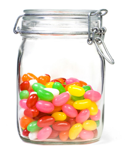 Jelly Bean Jar PNG