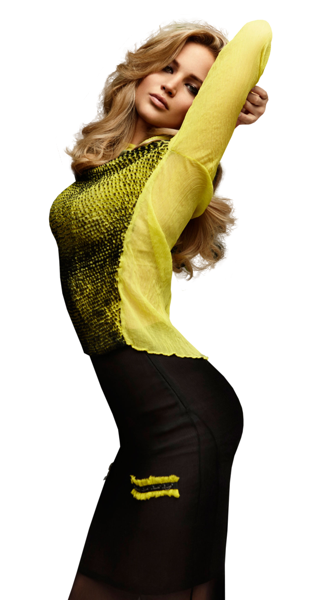 Jennifer Lawrence PNG 4 by VelvetHorse PlusPng.com  - Jennifer Lawrence PNG