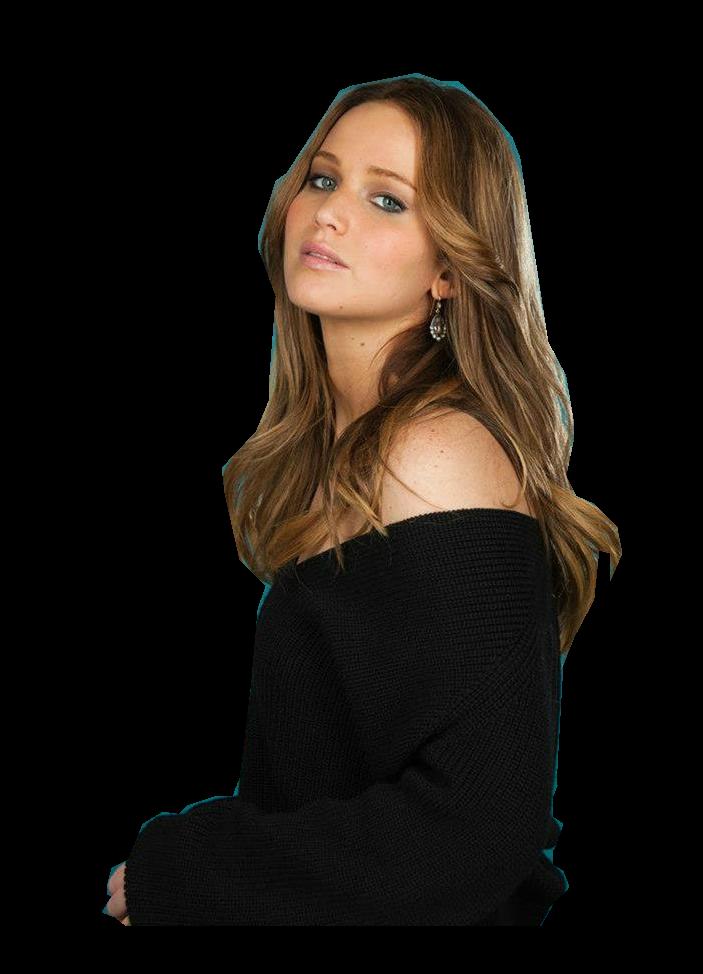 Jennifer Lawrence Png by makeuplocalypse PlusPng.com  - Jennifer Lawrence PNG