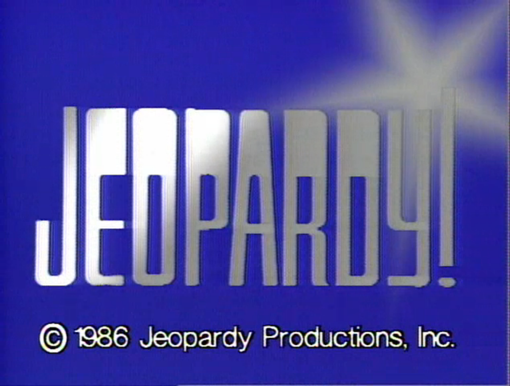 Jeopardy PNG - 69600