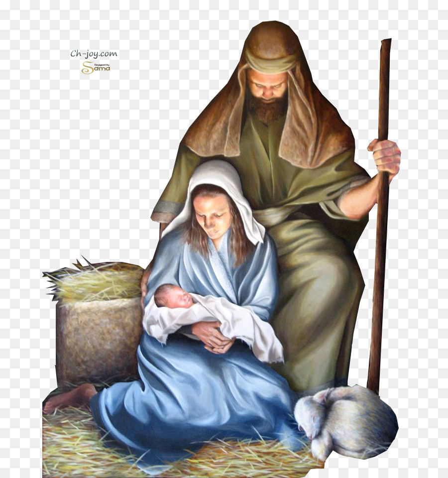 Holy Family Nativity of Jesus Biblical Magi Religion Child Jesus - Birth - Jesus Birth PNG
