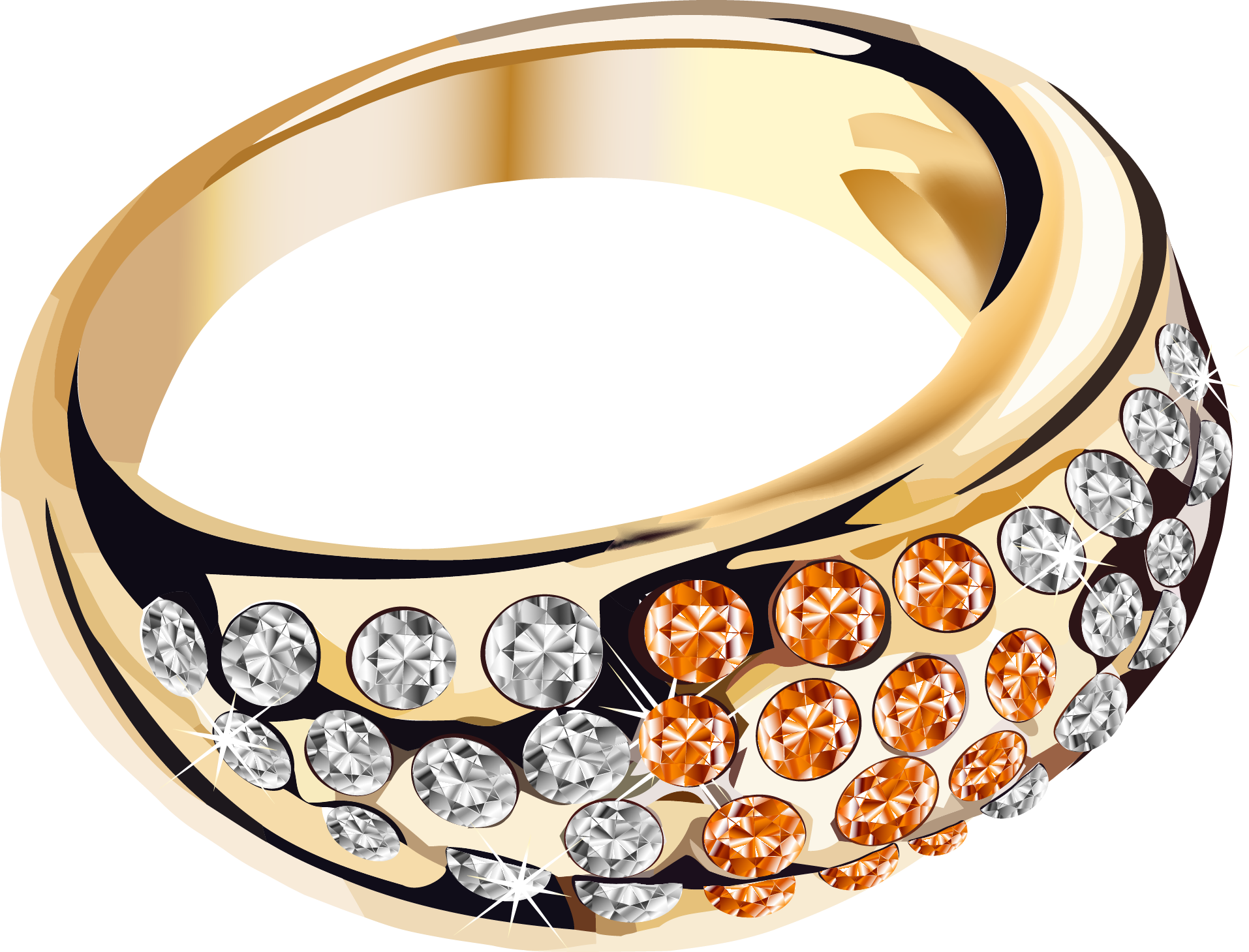 gold ring PNG - Jewellary HD PNG