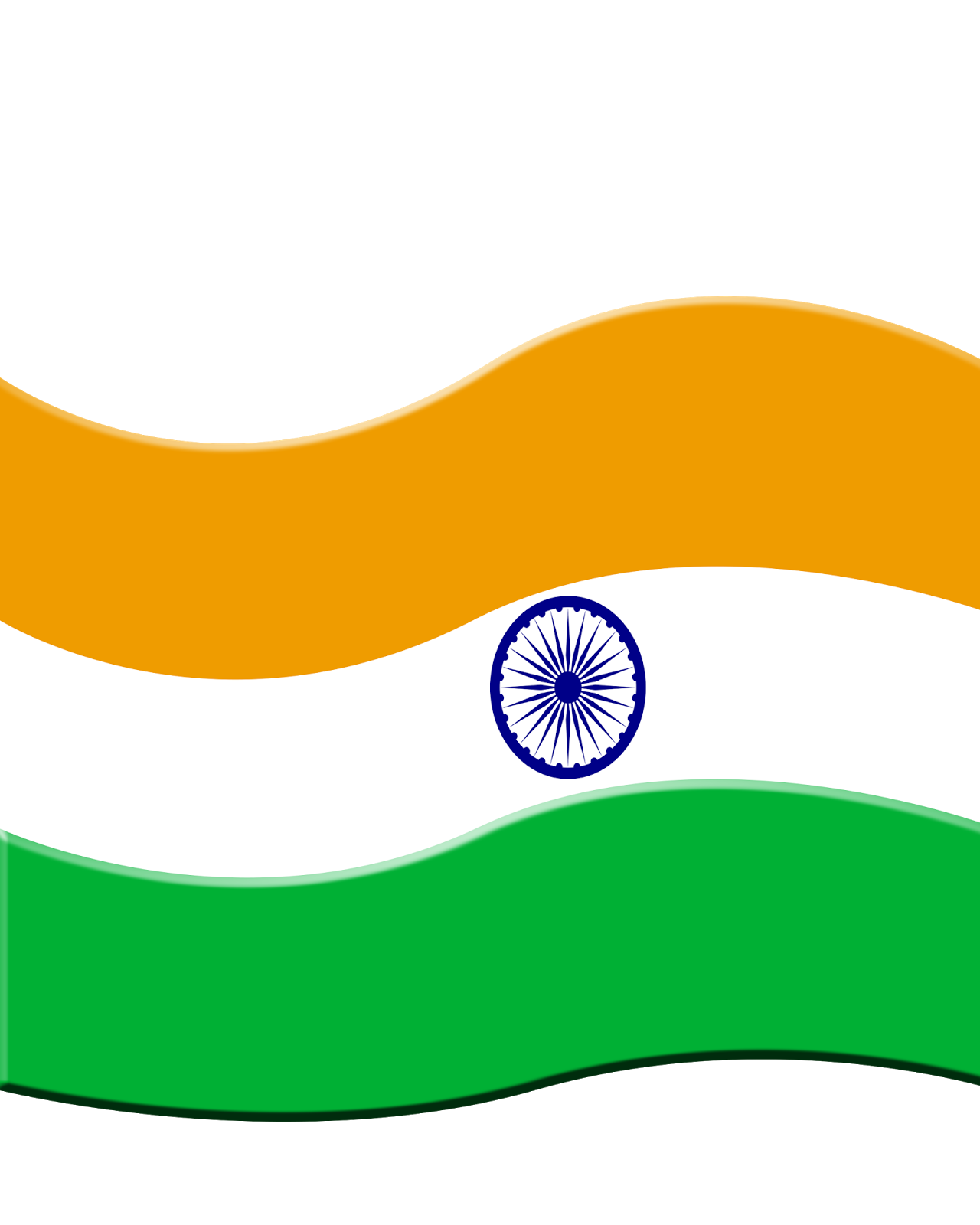 National Flag of India, Tiran