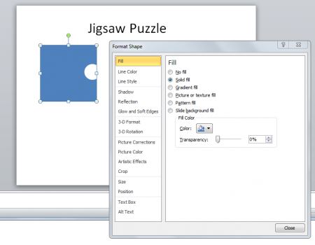 Jigsaw PNG For Powerpoint - 47086